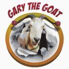 Gary the goat  by JimboBazoobi