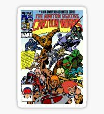 Cartoon Wars non-weathered Sticker