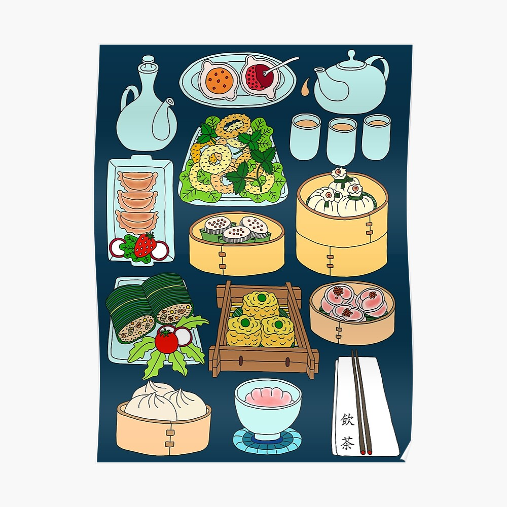 Sunday Dim Sum Lunch Poster