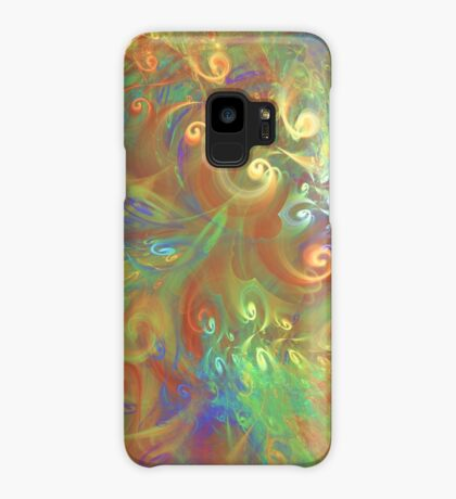 Fractal Flowers Case/Skin for Samsung Galaxy