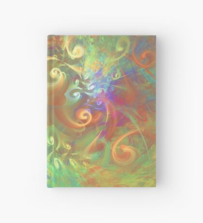 Fractal Flowers Hardcover Journal