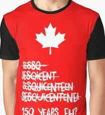 Canada Sesquicentennial (150 Years) Graphic T-Shirt