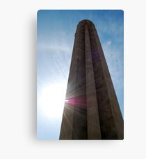 Mid Day at the National World War I Memorial  Canvas Print