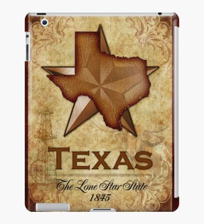 Texas Independence - The Lone Star State iPad Case/Skin