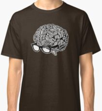 Brain with Glasses Classic T-Shirt
