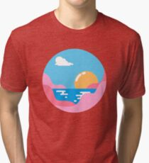 Our Sunset Tri-blend T-Shirt