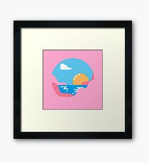 Our Sunset Framed Print