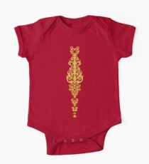 Queen Embroidery One Piece - Short Sleeve