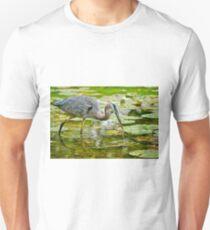 Blue Heron Unisex T-Shirt