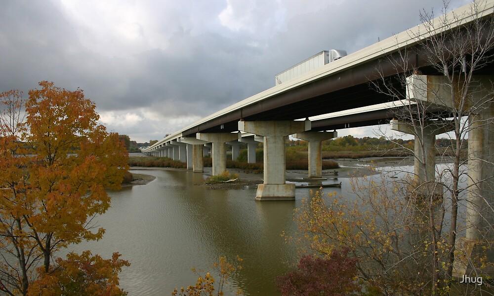Autumn Bridge by Jhug