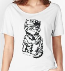 General Mittens Full - Stencil Women's Relaxed Fit T-Shirt