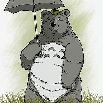 My Neighbor Bear by pigboom