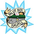 Ballot Box Badass by lauriepink