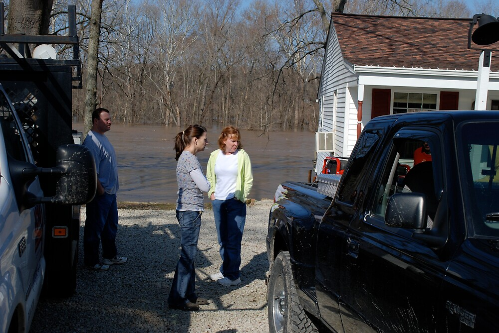 Flood Victims 2 by Jim Caldwell