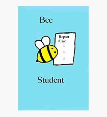 Bee Student  Photographic Print