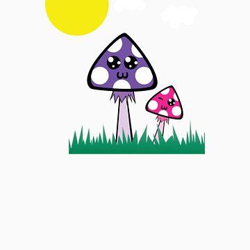 Happy Shroomies! by Bubina