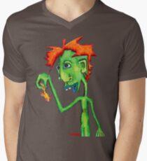 Electric Goldfish Mens V-Neck T-Shirt