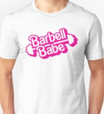 Barbell Babe Doll Logo T-Shirt
