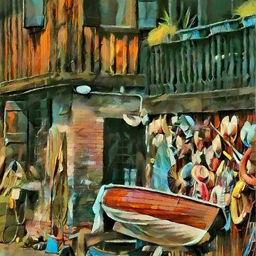 Squero San Trovaso by colorARTillery