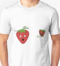 Chocolate strawberry  Unisex T-Shirt