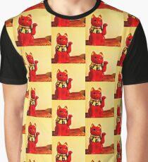 Lucky Cat Graphic T-Shirt