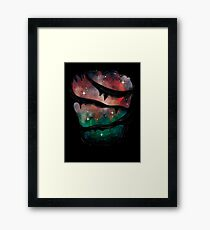 Whats on the inside counts Framed Print