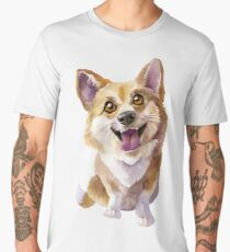 Pembroke Welsh Corgi  Men's Premium T-Shirt