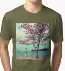 Blooms by the Sea Tri-blend T-Shirt
