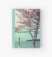 Blooms by the Sea Hardcover Journal