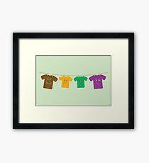 Hanging Tee Family Framed Print