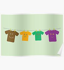 Hanging Tee Family Poster