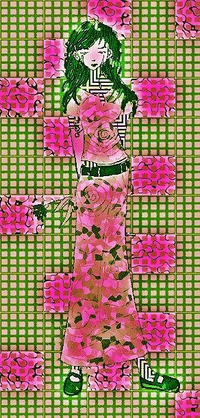 Rose Camo by Alex Moir