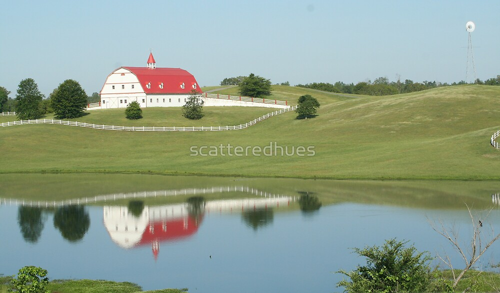 Red Farm House 1 by scatteredhues