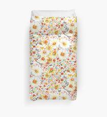 Vintage Gefühl Gänseblümchen Wildblumen Muster Bettbezug