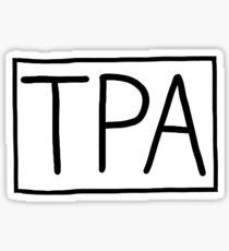 TPA- Tampa, FL Airport Code Sticker