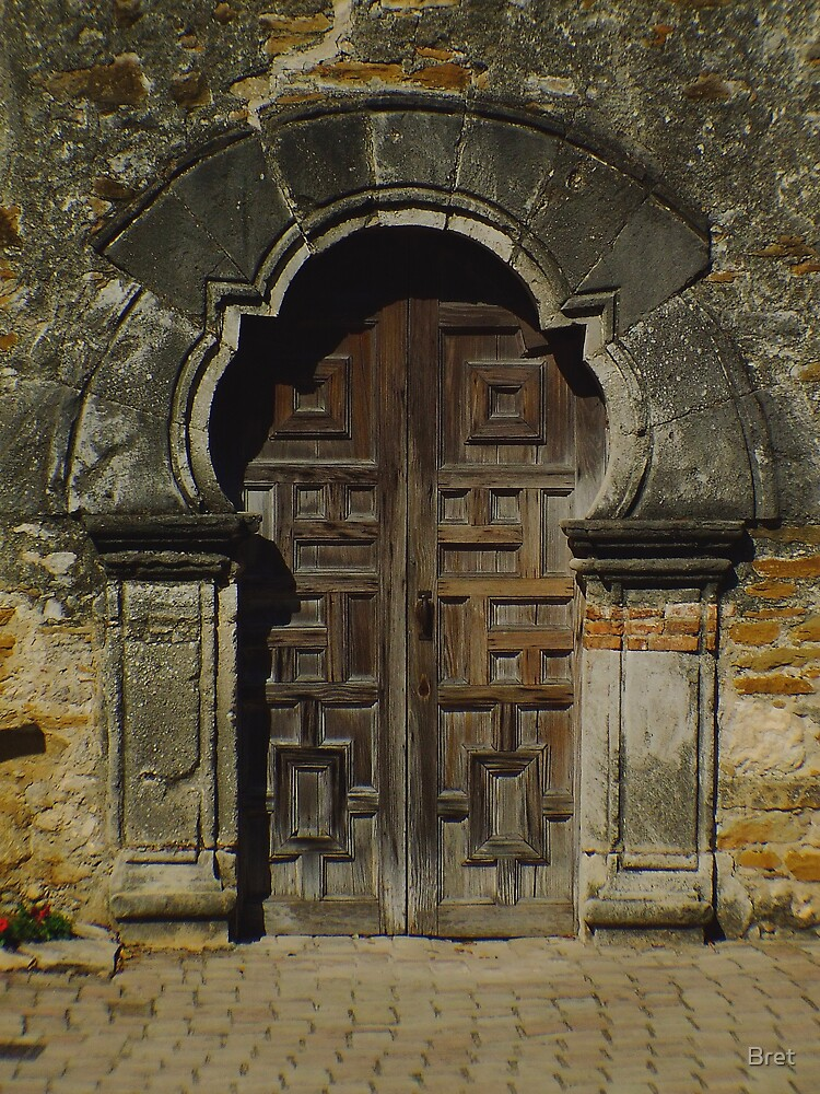 Spanish Door by Bret
