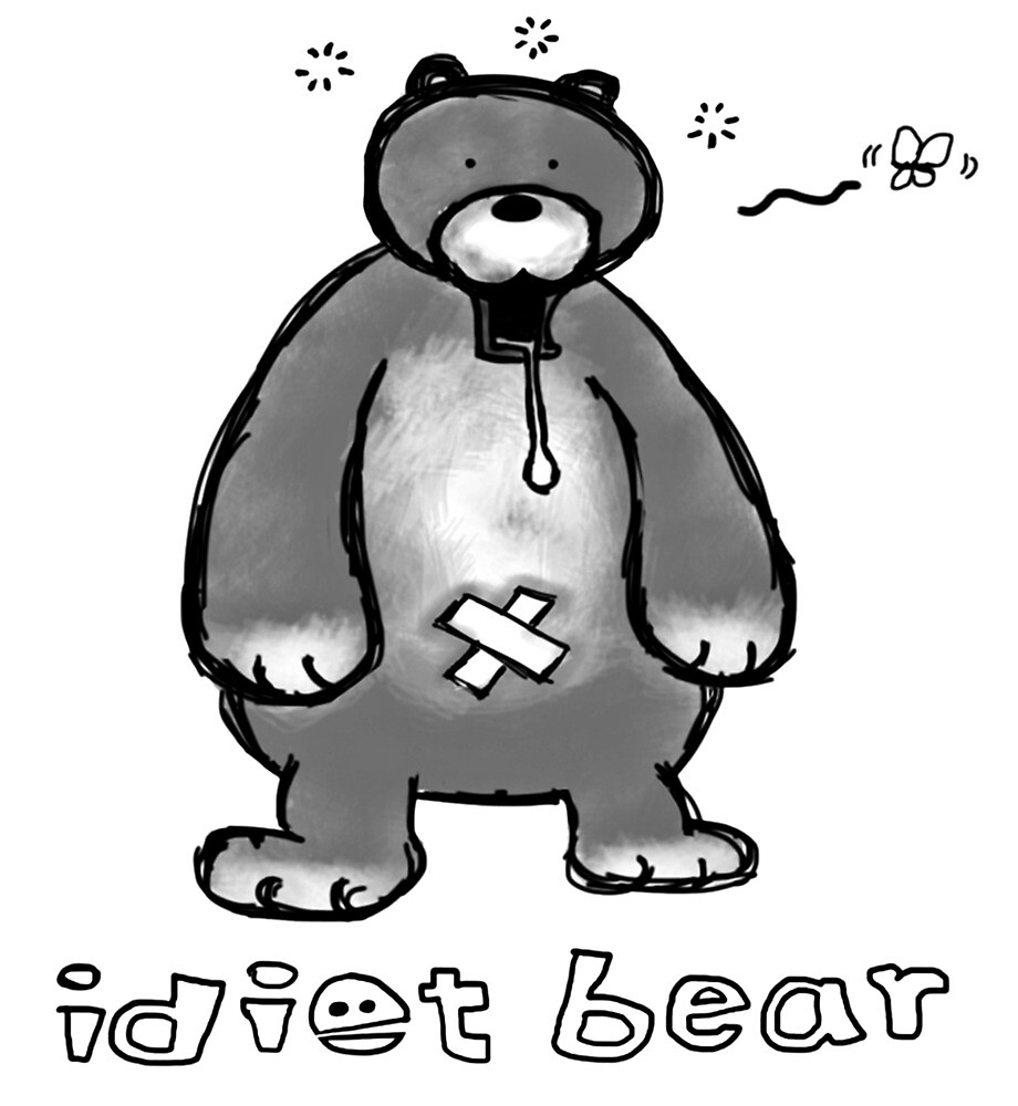 Funny bear by toshibung