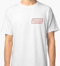 Conjectural Technologies (red) Classic T-Shirt