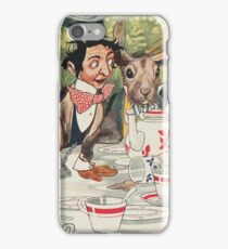 March Hare Tea Party iPhone Case/Skin