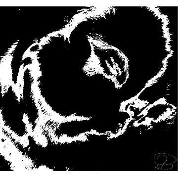 Praying bunny by ArveBettum