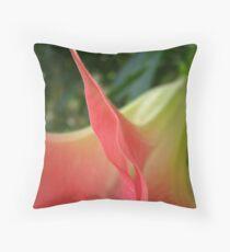 Trumpet of Spring Throw Pillow