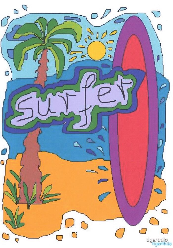 1805 - Surfer Design by tigerthilo