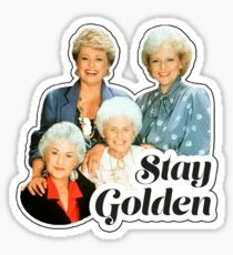 Stay Golden Sticker