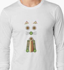 Forest Cat Illustration T-Shirt
