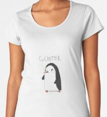 Gunter The Penguin Women's Premium T-Shirt