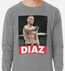 nate diaz 209 Lightweight Sweatshirt