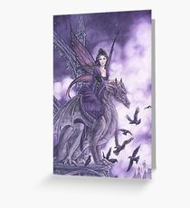 Dragon Sentinel  Greeting Card