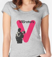 The Vibrators Women's Fitted Scoop T-Shirt