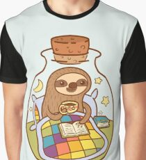 Sloth in a Bottle Graphic T-Shirt