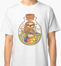 Sloth in a Bottle Classic T-Shirt